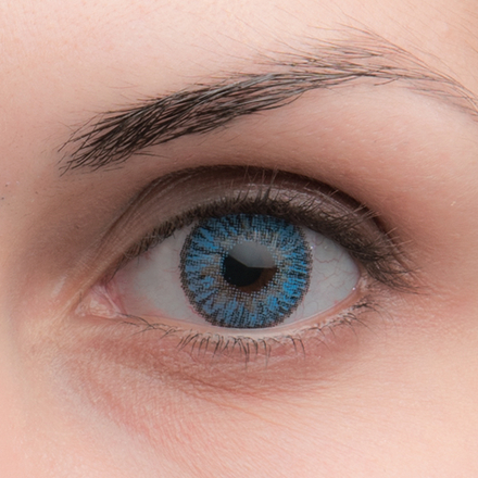 Цветные линзы Dreamcon Elegance Blue